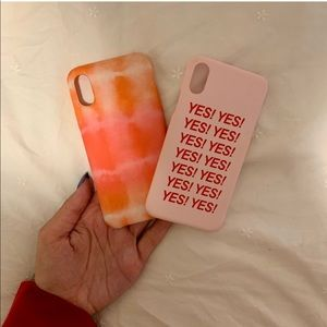 iPhone X/XS Cases (2 for 1)